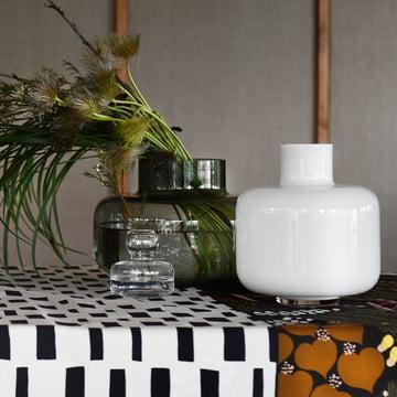 Flower Vase und Urna Vase von Marimekko