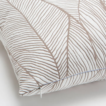 Mika Barr - Pinion Kissenbezug, 45 x 45 cm, beige