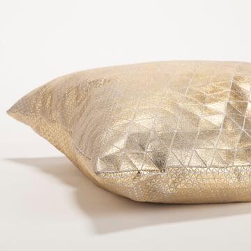 Mika Barr - Bling Kissenbezug, 50 x 50 cm, gold