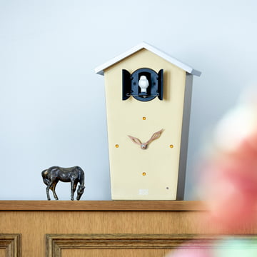 Die KooKoo - Bird House Kuckucksuhr in gold (Limited Edition)