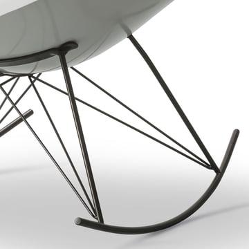 Der Fredericia - Stingray Schaukelstuhl in matt weiß / flint