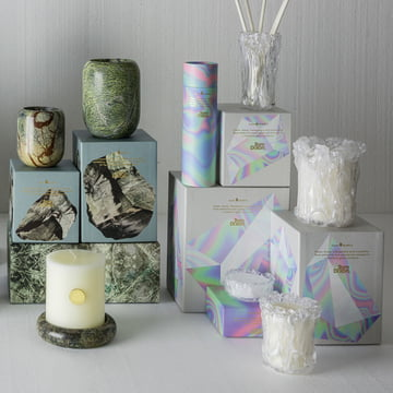Materialism Kerzen Stone und Quartz von Tom Dixon