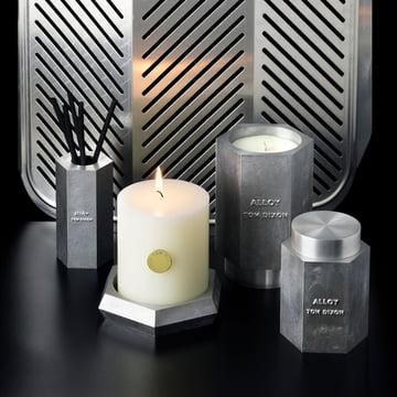 Materialism Kerzen Geschenkset Alloy von Tom Dixon