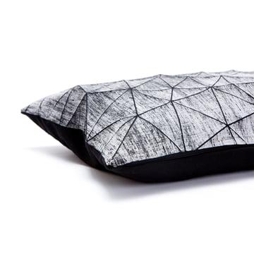 Mika Barr - Irad Kissenbezug, 55 x 40 cm, schwarz