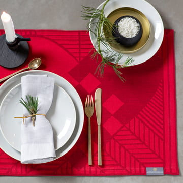 Christmas Rustic Tischset von Georg Jensen Damask