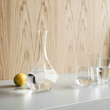 Karaffe Penta von Rosendahl mit Gläsern