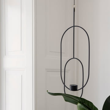 Ovaler Teelichthalter zum Aufhängen von ferm Living