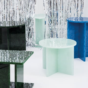 Font Tisch von Sebastian Herkner für Pulpo