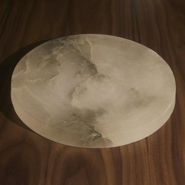 Menu - Circular Schale, cloud stone