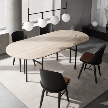 snaregade table oval von menu im design shop