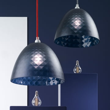 Der Koziol - Stella Silk Lampenschirm zu mehreren gehängt