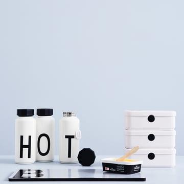 AJ Thermoflasche und Personal Lunch Box von Design Letters