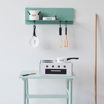 Cooking Class Spielzeug Set (4 tlg.) von Design Letters in Weiß