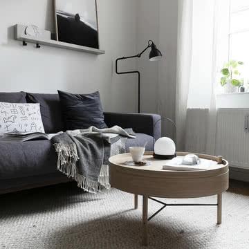 Wohnzimmer Im Modernen, Skandinavischen Einrichtungsstil