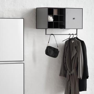 Frame Garderobenstange, Divider und Hangar Kleiderbügel von by Lassen