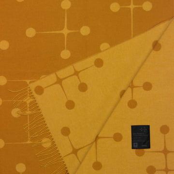 Vitra - Eames Wolldecke, Dot Pattern, senf