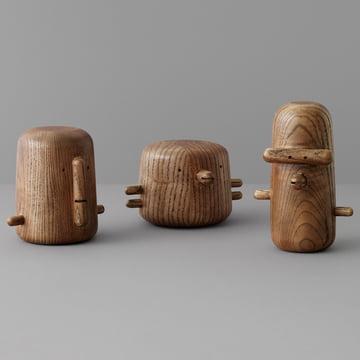 Die Normann Copenhagen - Ni, San und Ichi Dekofiguren