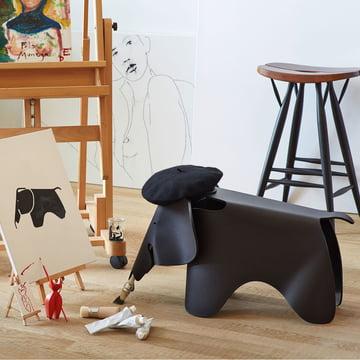 Vitra - Eames Elephant small, tiefschwarz