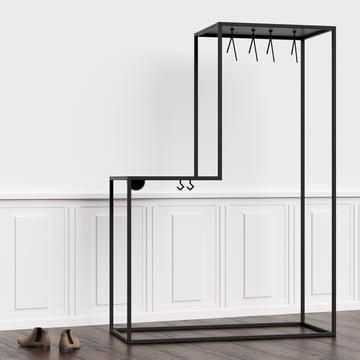 Stand01 garderobe von nichba design connox for Garderobe italienisches design