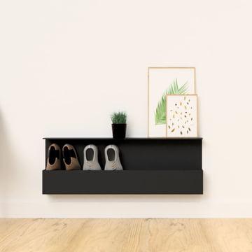 Die Nichba Design - Shoe Box im Flur platziert
