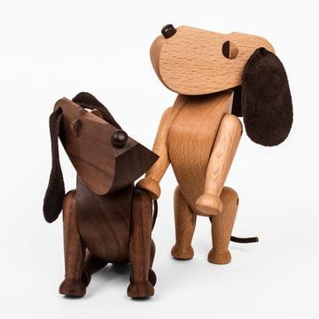 Architectmade - Holzhund Bobby und Oscar