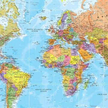 Die Welt (politisch) von IXXI