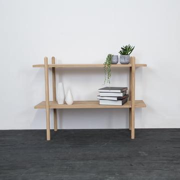 Das kommod - Stapla Regal als Bücherregal