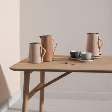 Die Tee- und Kaffeeserie Emma von Stelton
