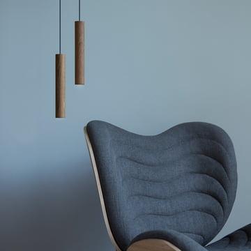 Die Vita - Chimes Pendelleuchte LED neben dem Sessel