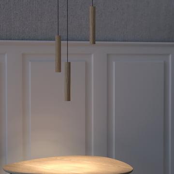 Die Vita - Chimes Pendelleuchte LED zu mehreren arrangiert