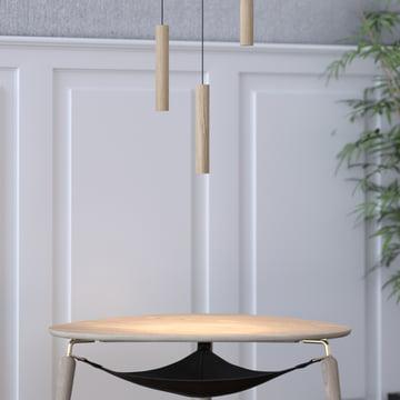 Die Vita - Chimes Pendelleuchte LED über dem Beistelltisch