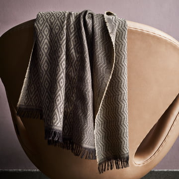 Die Fritz Hansen Jubiläums- Serie - Wolldecke und Schwan Sessel