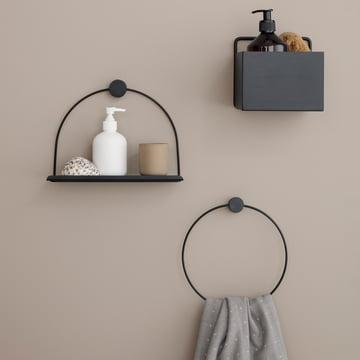 Badezimmer Wandablage und Wall Box von ferm Living