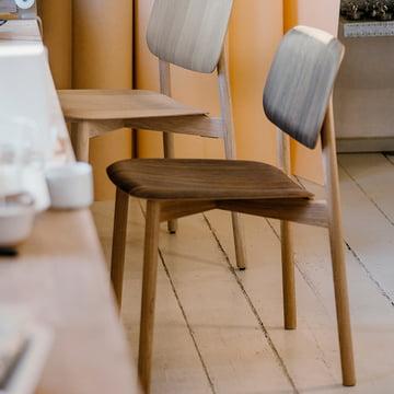 Der Hay - Soft Edge 12 Stuhl, eiche geräuchert