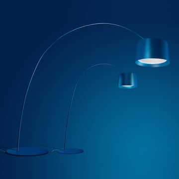 Die Foscarini - Twice as Twiggy LED Bogenleuchte