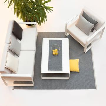 Mono Tischläufer und Teppich von Pappelina