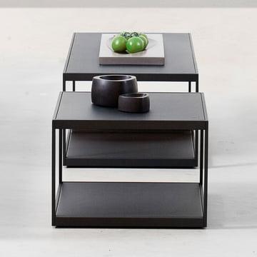 Der Röshults - Garden Easy Tisch, 50 x 50 cm, anthrazit