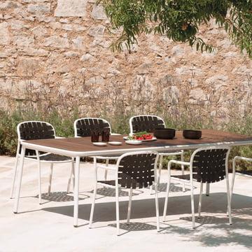 Der Emu - Yard Tisch und Armlehnstuhl - Sitzgruppe