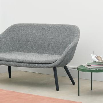 Hay - About a Lounge Sofa for Comwell, Eiche geseift / Remix 123 (hellgrau) (EU)