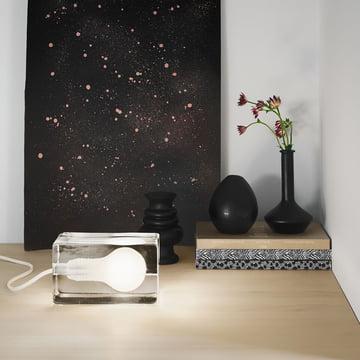 Design House Stockholm - Block Lamp LED, weiß