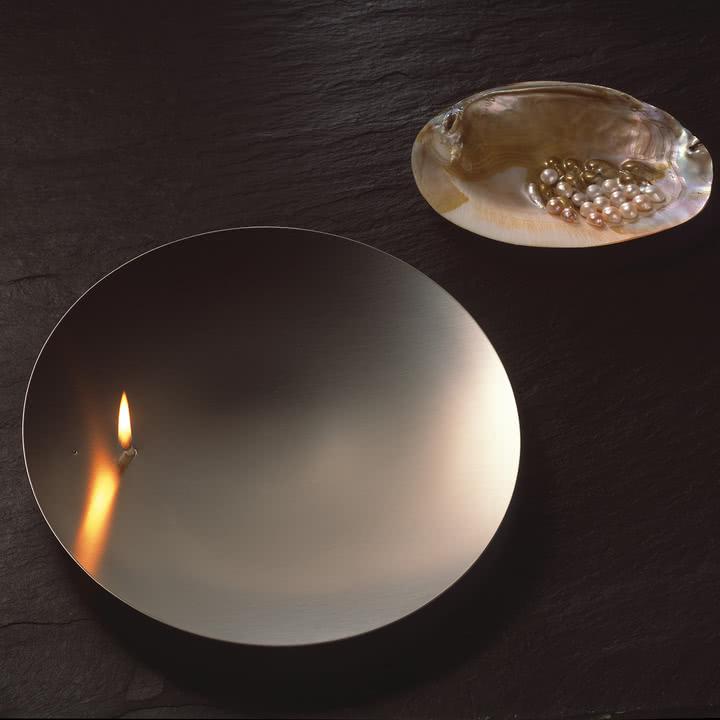 Öllampe in Stahloptik von mono Concave