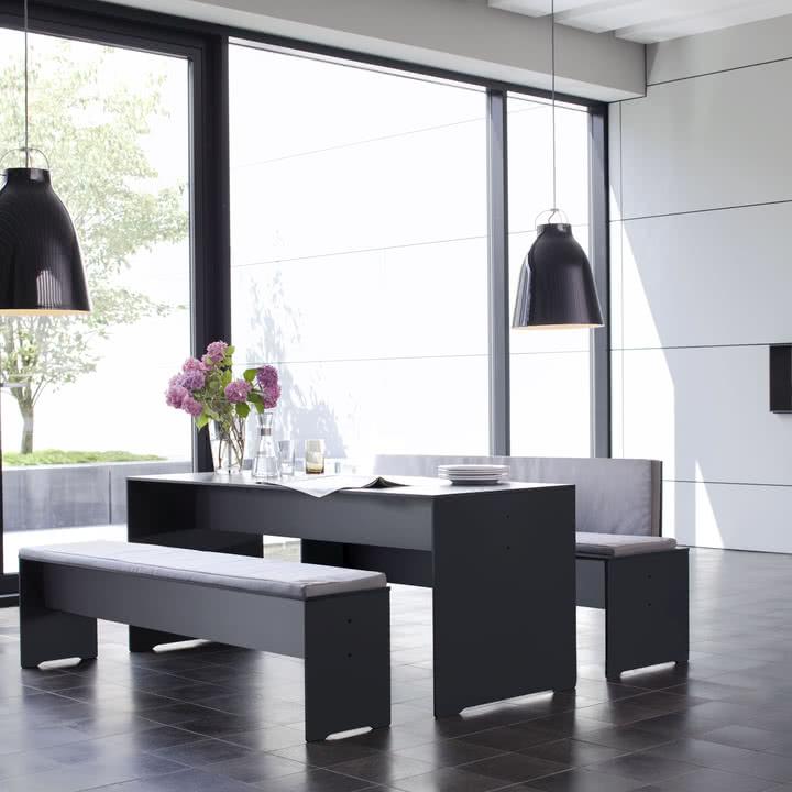 Conmoto - Riva Indoor- und Outdoor Möbel HPL grau