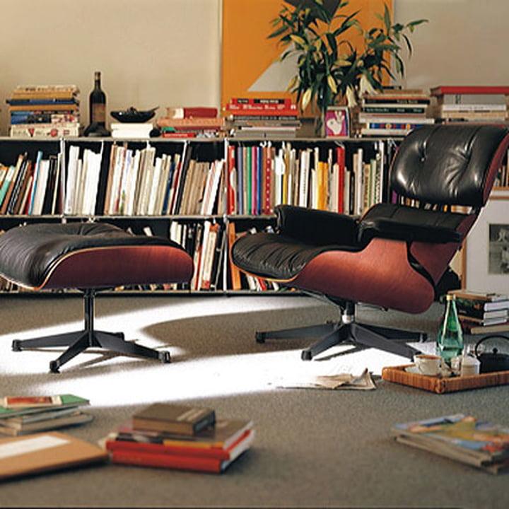 Vitra Lounge Chair Amp Ottoman Kirschbaum