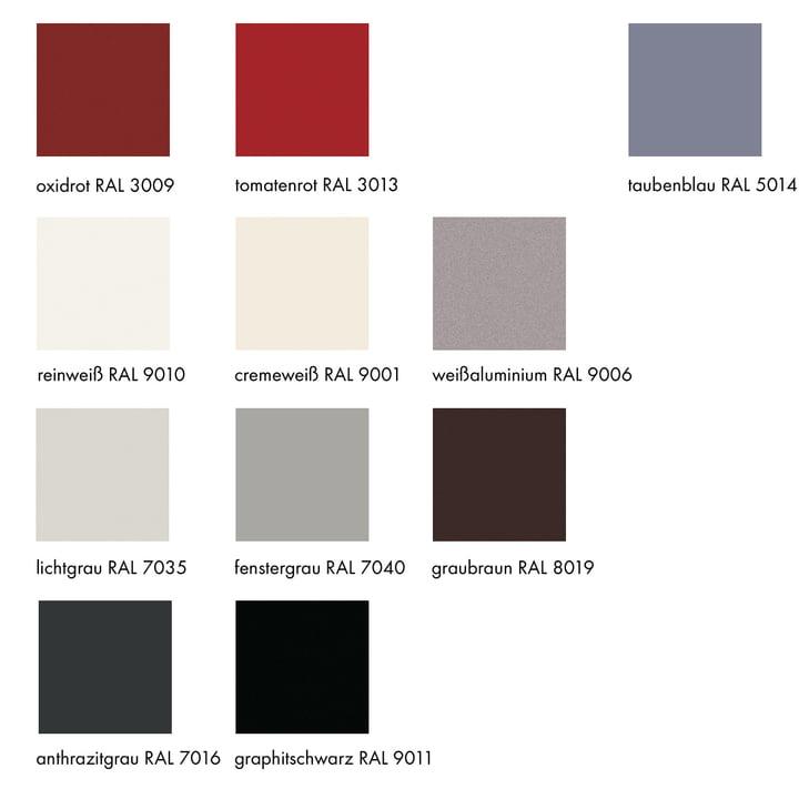 Farbvarianten des Bettkastens von Müller Möbelwerkstätten