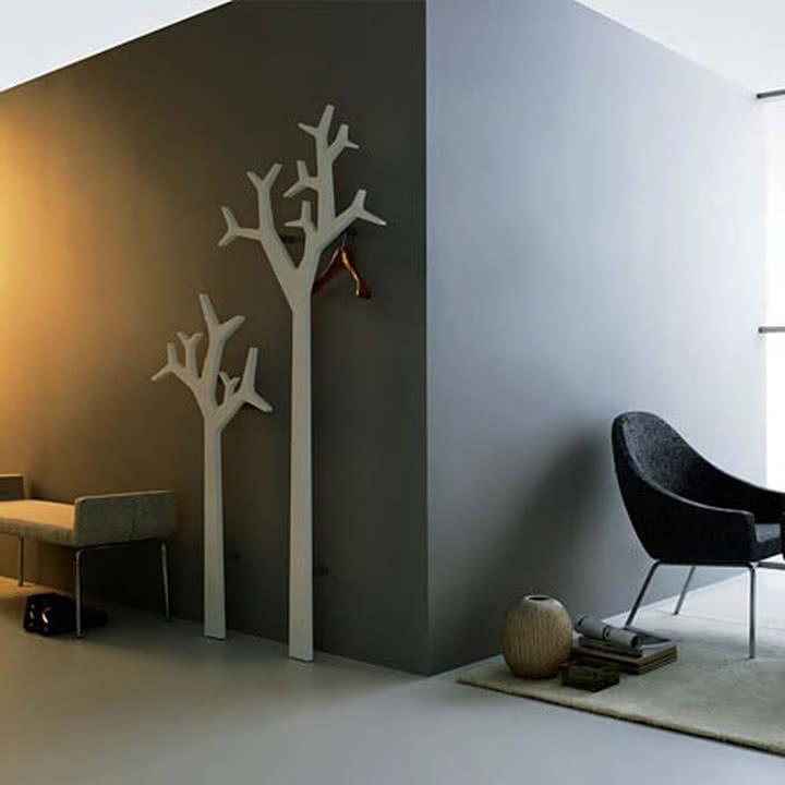 Swedese Tree Wandmontierter Kleiderst 228 Nder