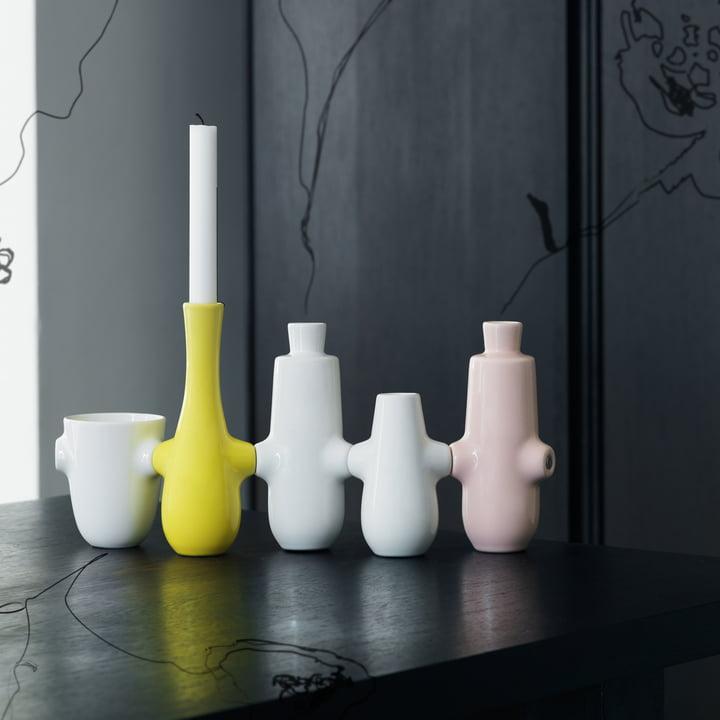 Vasen / Kerzenständer zum Zusammenstecken