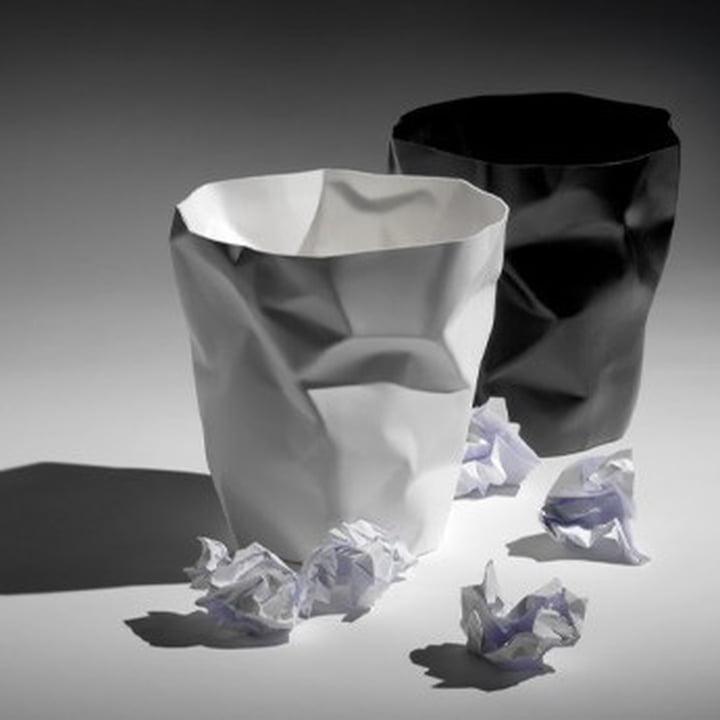 Papierkorb und Blickfang - beides in einem.