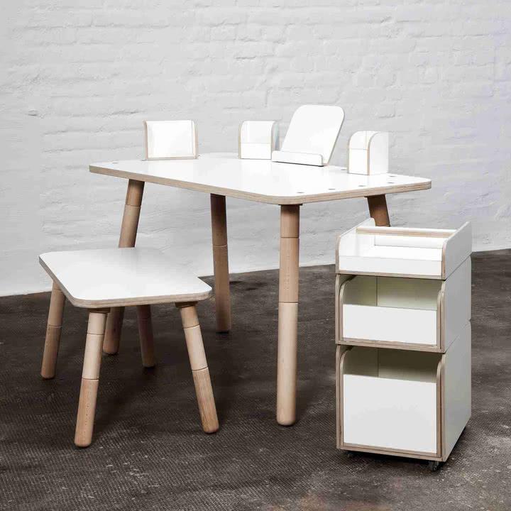 Möbel, die mit dem Kind mitwachsen
