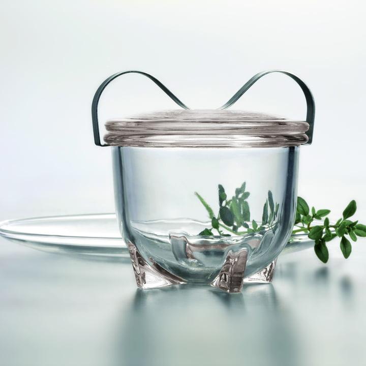 Der Wagenfeld Eierkocher No. 2 von Jenaer Glas