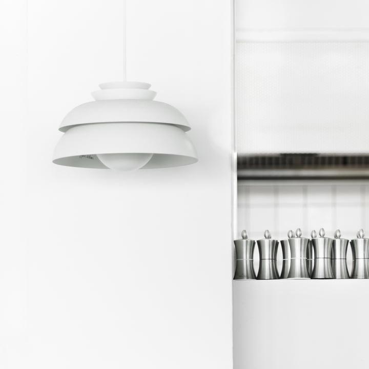 Design-Ambiente in Restaurantküchen mit der Lightyears Concert Pendelleuchte